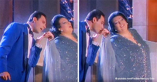 Seltenes Video von Freddie Mercurys Duett mit Caballé zeigt sein Talent in voller Pracht