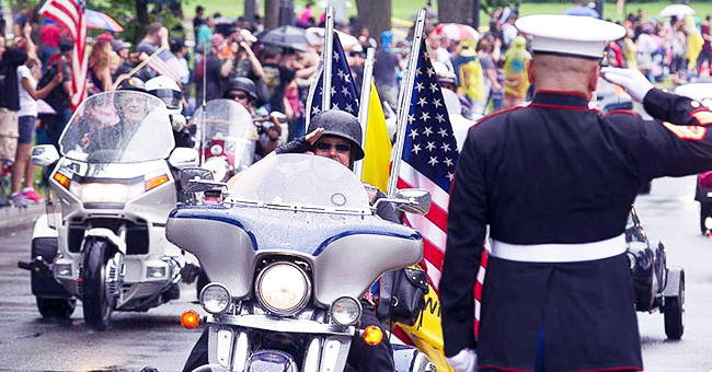 Rolling Thunder Bikers Make Last Ride through DC, but Trump Claims They'll Be Back Next Year