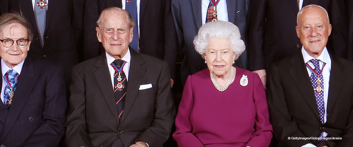 Prince Philip Joins the Queen for a Rare Outing Where She Answers a Question about Baby Sussex