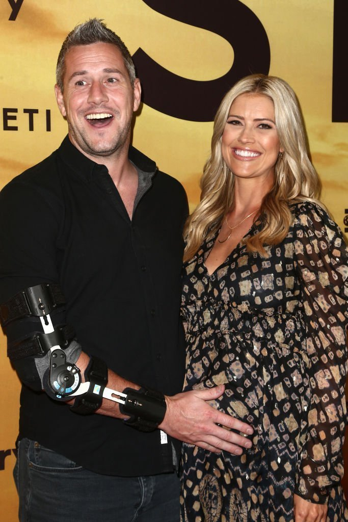 "Christina Anstead and Ant Anstead attend the Los Angeles Special Screening Of Discovery's ""Serengeti"" at Wallis Annenberg Center for the Performing Arts 