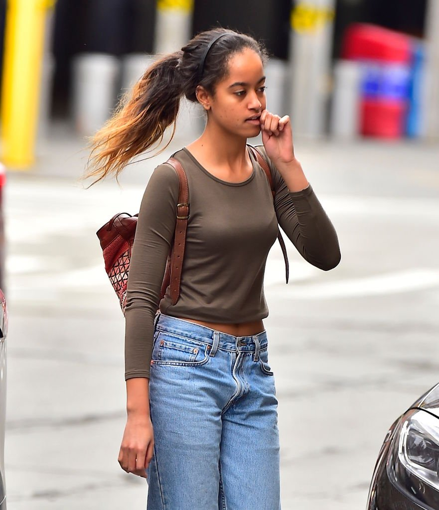 Malia Ann Obama is seen in Tribeca | Photo: Getty Images