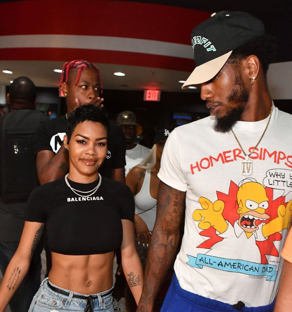 Singer Teyana Taylor and NBA Player Iman Shumpert arrives at 14th Annual LudaDay Weekend Celebrity Bowling Tournament at Bowlmor Atlanta in Atlanta, Georgia | Photo: Getty Images