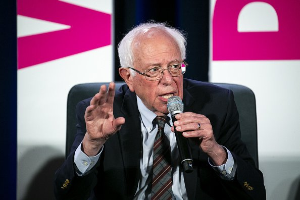 Senator Bernie Sanders speaks during the Planned Parenthood Action Fund We Decide 2020 Election Membership Forum | Photo: Getty Images