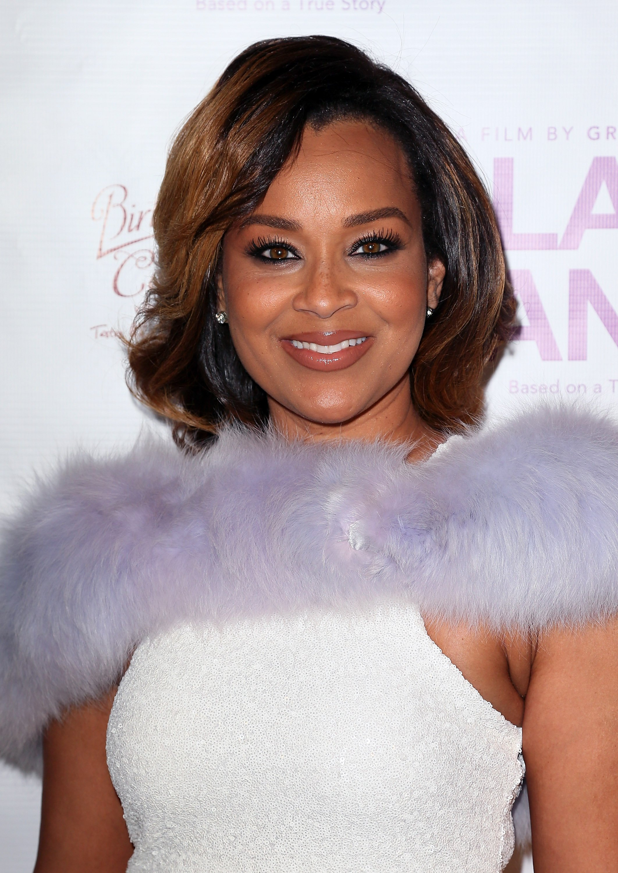 """LisaRaye McCoy at the premiere of """"Lap Dance"""" at ArcLight Cinemas on December 8, 2014 in Hollywood, California.