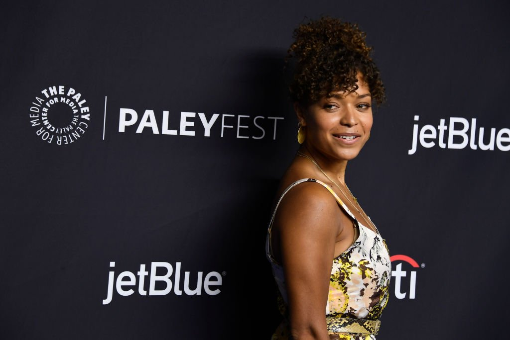 """Antonia Thomas attends The Paley Center For Media's 35th Annual PaleyFest Los Angeles - """"The Good Doctor"""" at Dolby Theatre on March 22, 2018. 