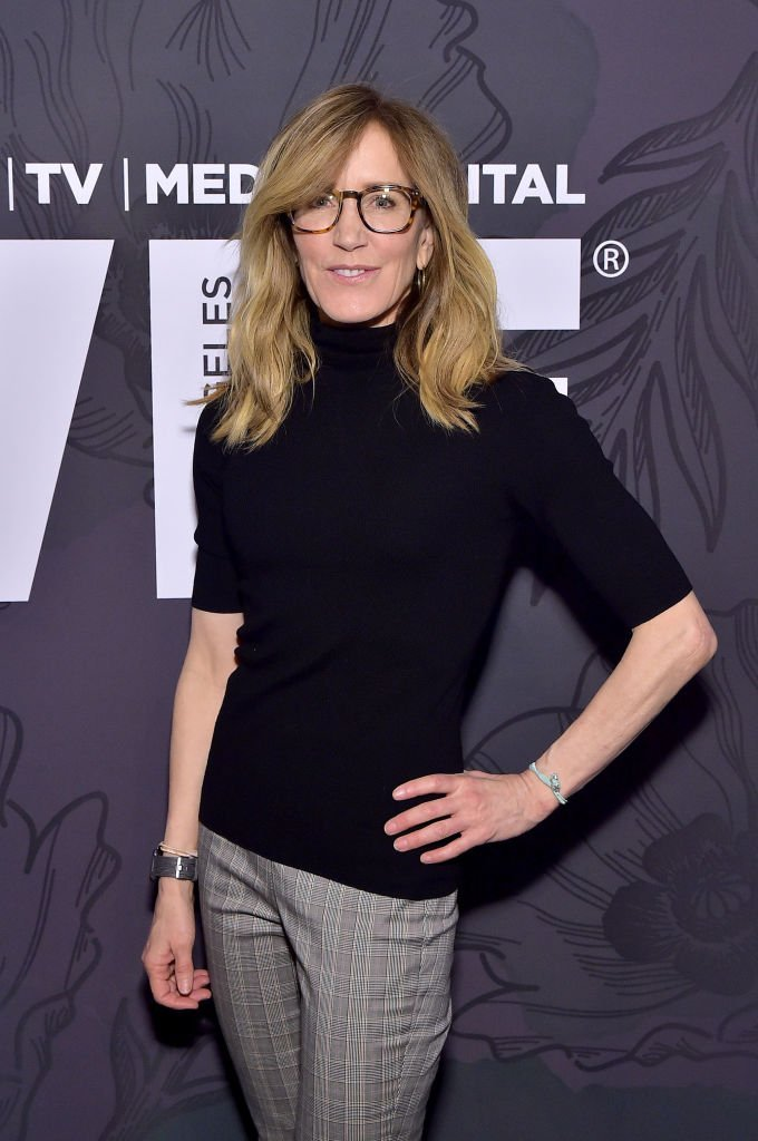Felicity Huffman at the 12th Annual Women in Film Oscar Nominees Party. | Source: Getty Images