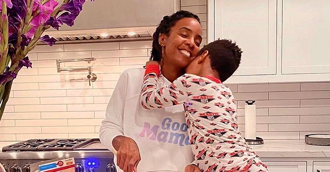 Kelly Rowland of 'Destiny's Child' Shares Touching Photo with Son Titan in Her Kitchen