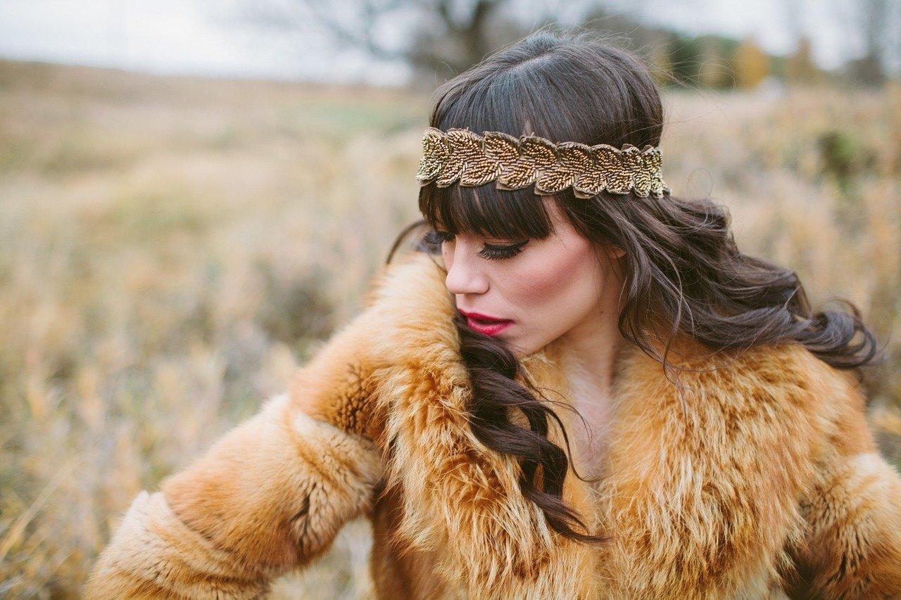 Woman wearing a fur coat. Image credit: Pixabay