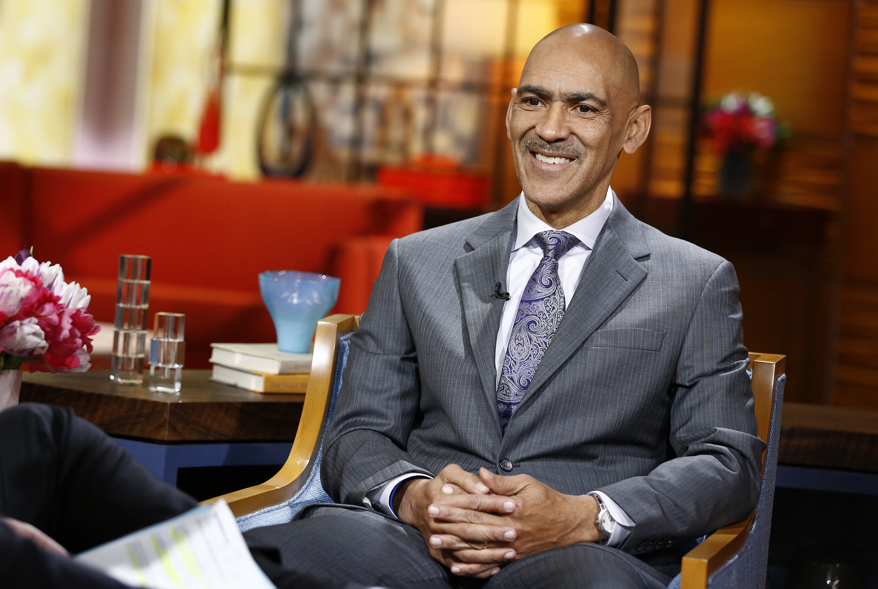 "TODAY -- Pictured: Tony Dungy appears on NBC News' ""Today"" show, January 29, 2014 