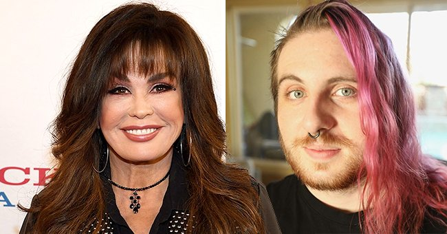 Marie Osmond Shares Birthday Message to Son Brandon — See Reactions to His Long Pink Hair