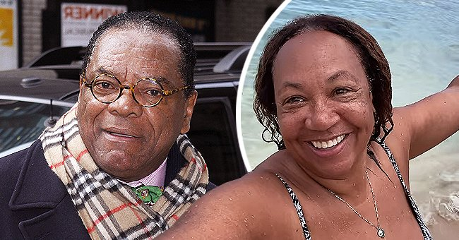 A photo collage of late John Witherspoon and Angela Witherspoon.   Photo: Getty Images  Instagram.com/arobinsonwitherspoon