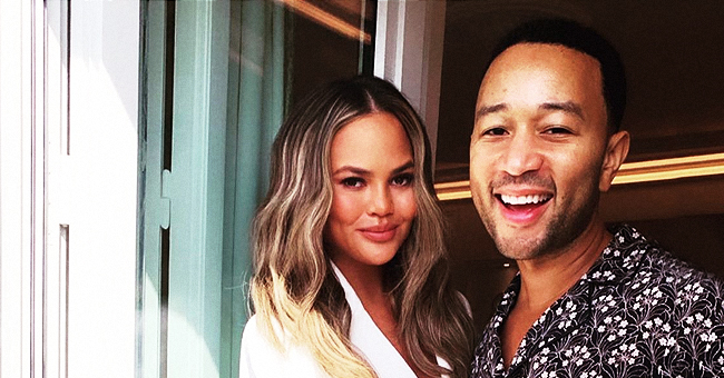 'Bring the Funny' Star Chrissy Teigen Shares Cute Video of Son Miles Playing the Piano with Dad John Legend