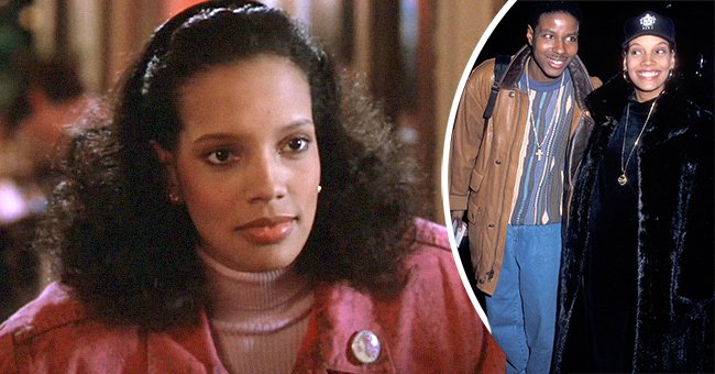 """Shari Headley and Christopher """"Play"""" Martin.   Photo: youtube.com/MOV Clips  Getty Images"""