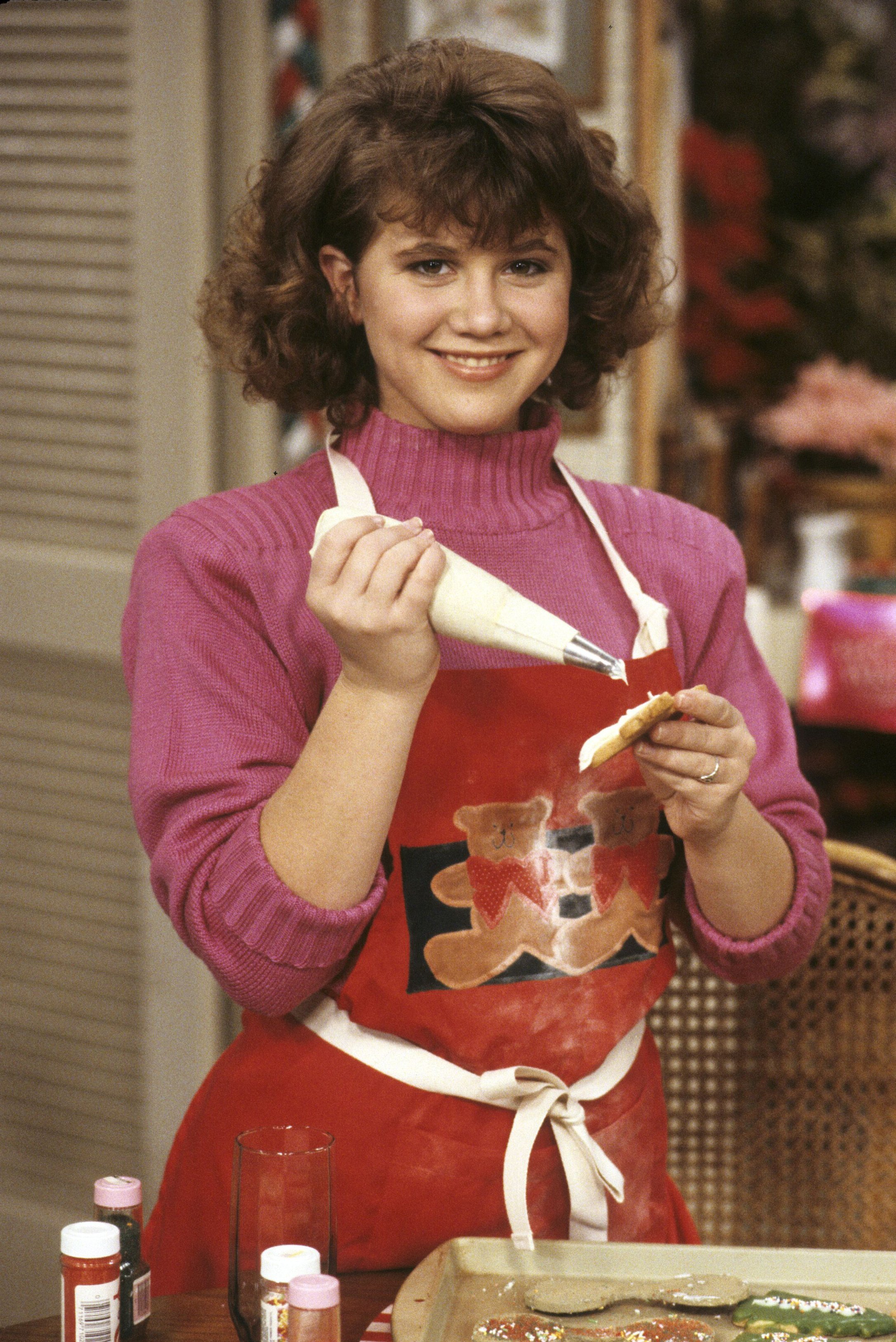 """Tracey Gold in a scene from """"Growing Pains"""" in 1985 