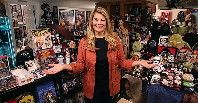 "Lisa Whelchel during the ""Collector's Call"" ""Star Wars"" themed episode. 