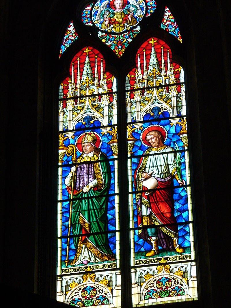 Ginés de Arlés es un santo de la Iglesia católica que nació en Francia.   Fuente: Wikipedia