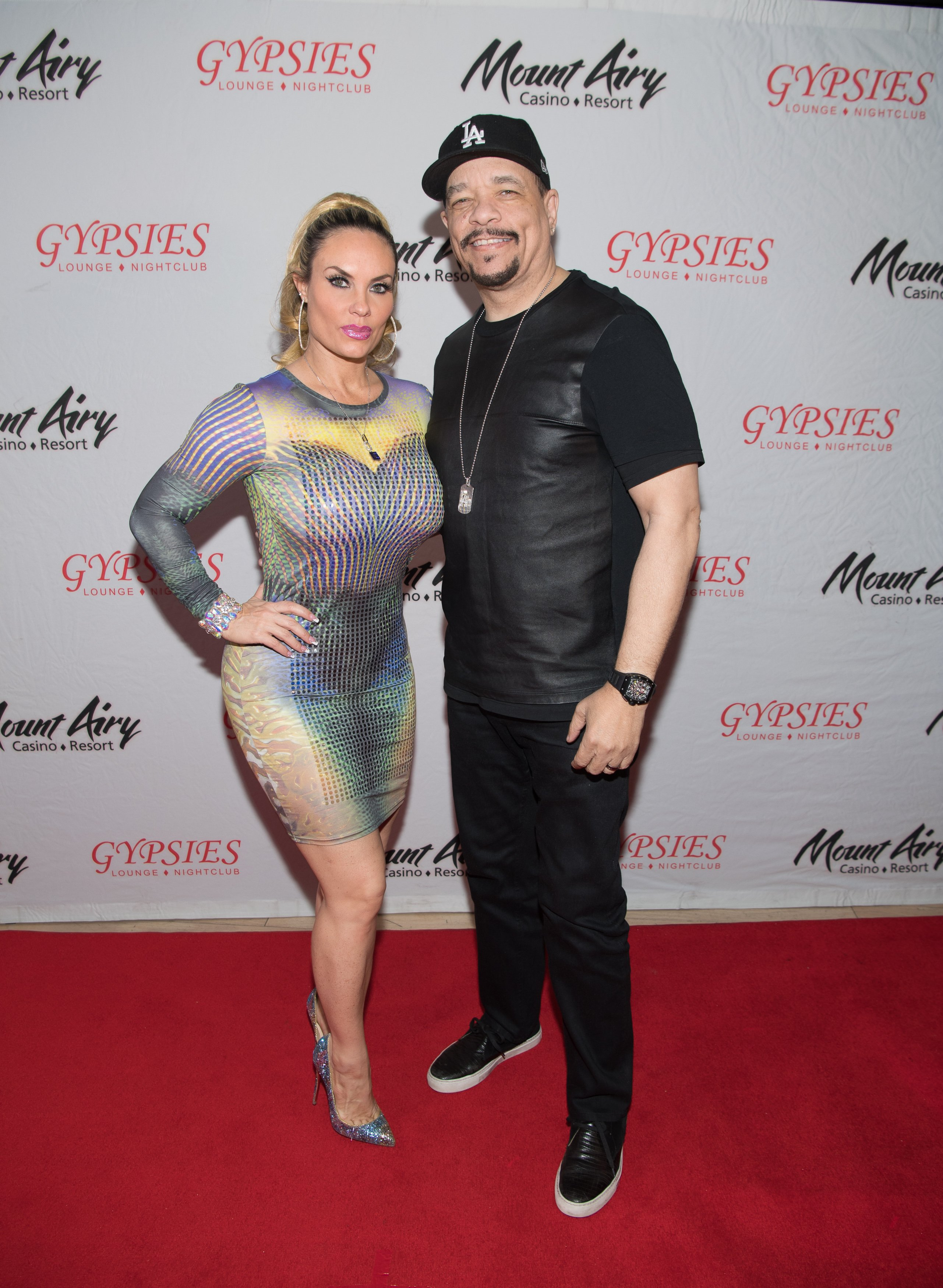 Ice-T and his wife Coco Austin appear at the Mount Airy Casino Resort in March 2017 | Photo: Getty images