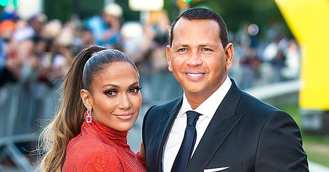 J Lo Rocks Out during Car Ride with Fiancé A-Rod as Fans Wish Them a Happy 4th Anniversary