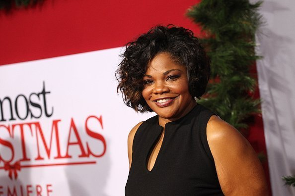 "Mo'Nique at the premiere of Universal's ""Almost Christmas"" in Westwood, California.