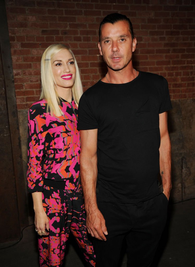 Gwen Stefani and Gavin Rossdale at the L.A.M.B. presentation during Mercedes-Benz Fashion Week Spring on September 5, 2014 in New York City. | Photo: Getty Images