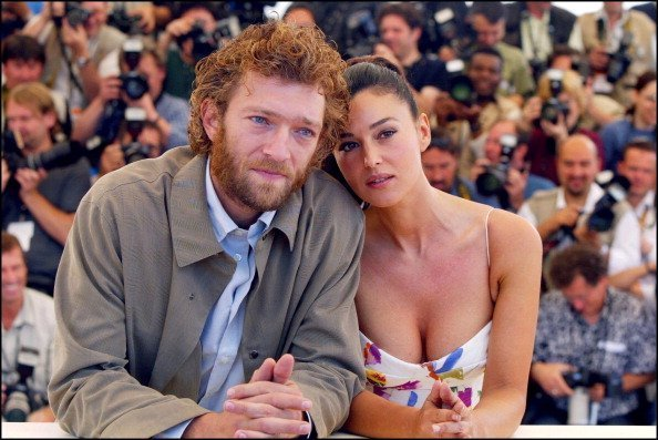 Vincent Cassel and Monica Bellucci at the 55th Cannes film festival | Getty Images