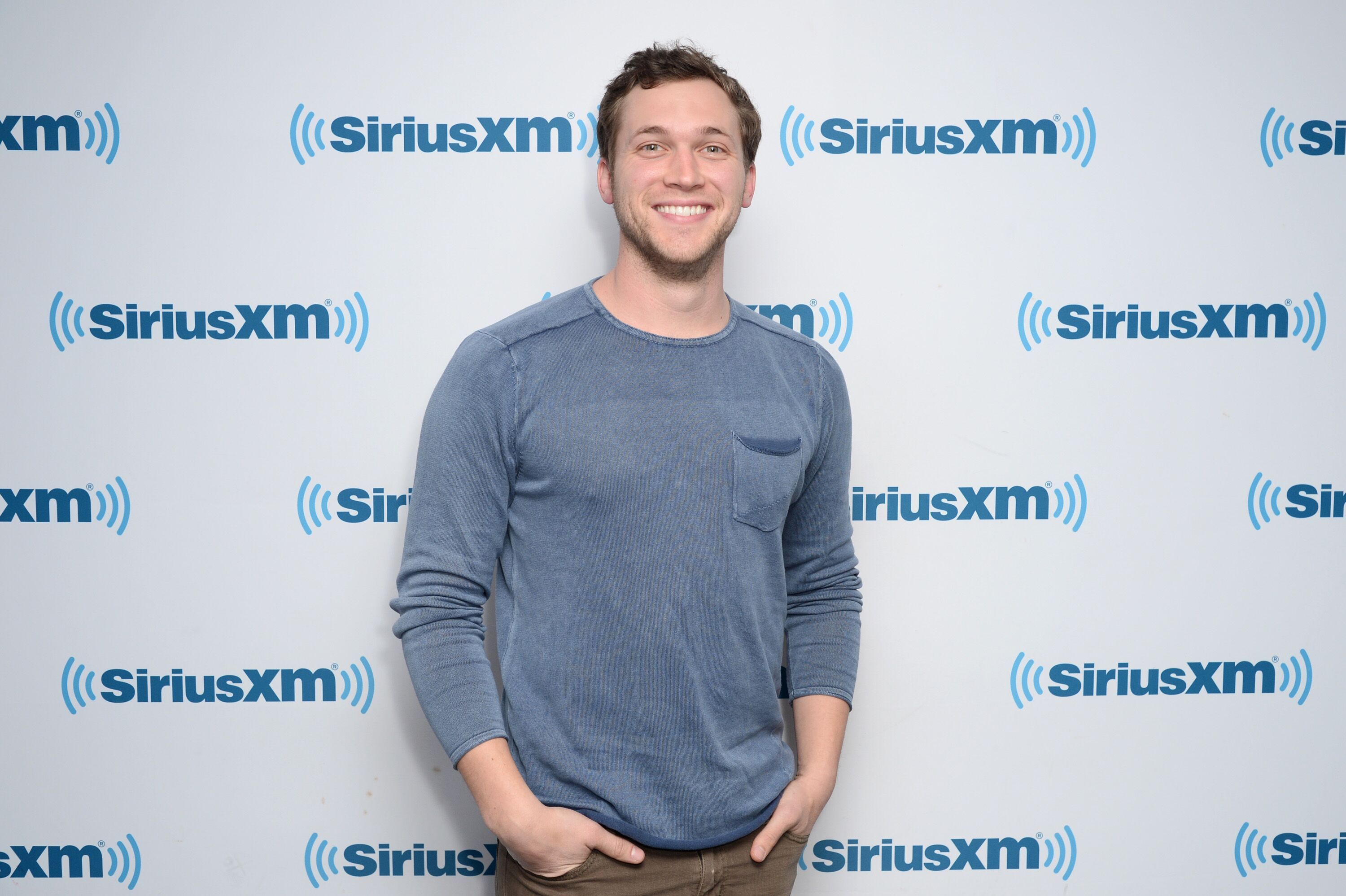 Phillip Phillips visits SiriusXM Studios on January 18, 2018 in New York City | Photo: Getty Images