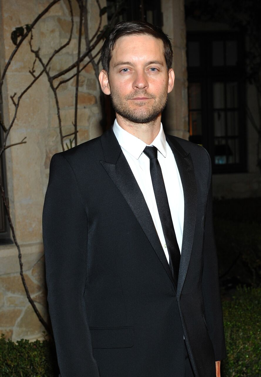 Tobey Maguire attends the PSLA Winter Gala. | Source: Getty Images