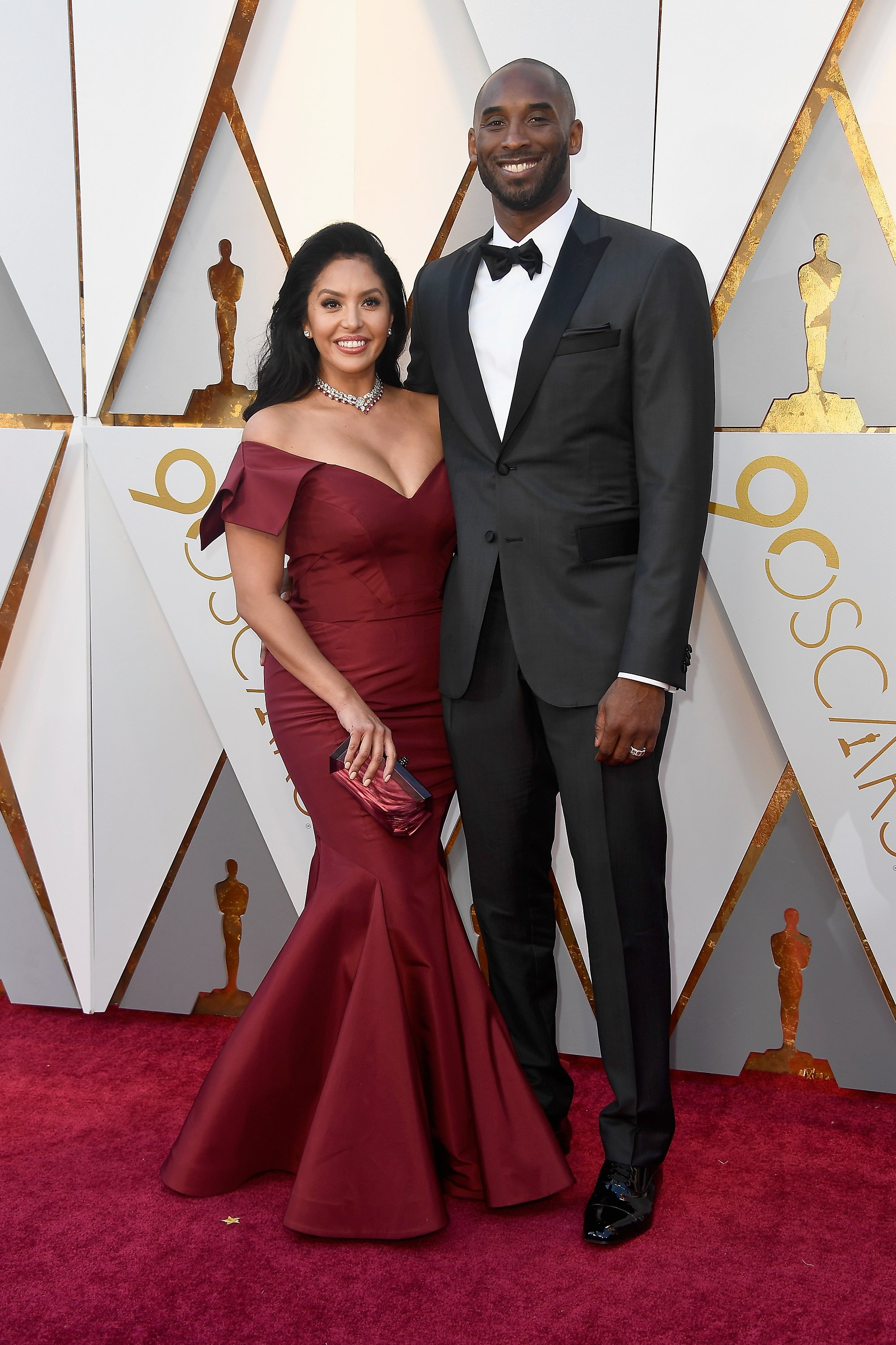 Vanessa Bryant & Kobe Bryant at the 90th Annual Academy Awards on March 4, 2018 in California | Photo: Getty Images