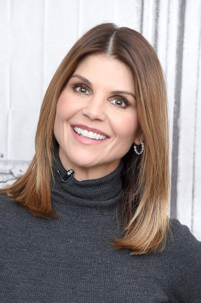 Lori Loughlin at the Build Brunch to discuss the Hallmark Channel TV series 'When Calls the Heart' in New York City.| Photo: Getty Images.