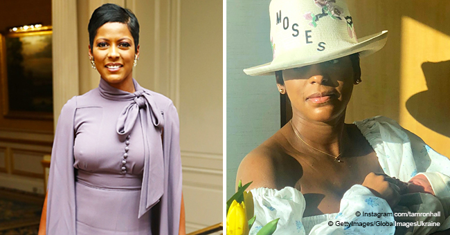 Tamron Hall, Former 'Today' Host, Welcomes Her First Child, Moses