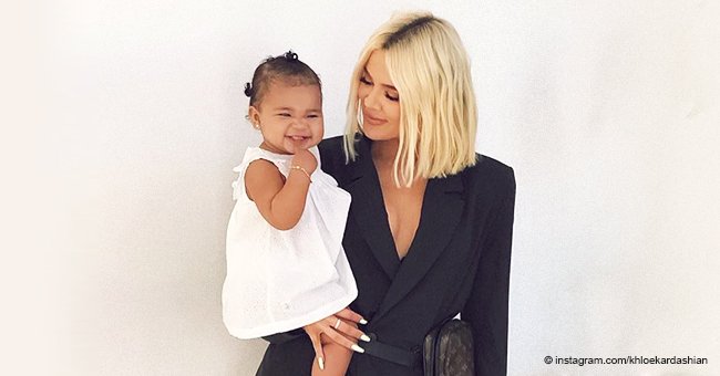 Khloé Kardashian Shares a Sweet Video of Her Daughter True and She's Already so Big