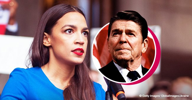 Rep. Alexandria Ocasio-Cortez Blasts Former President Ronald Reagan over Racist Policies