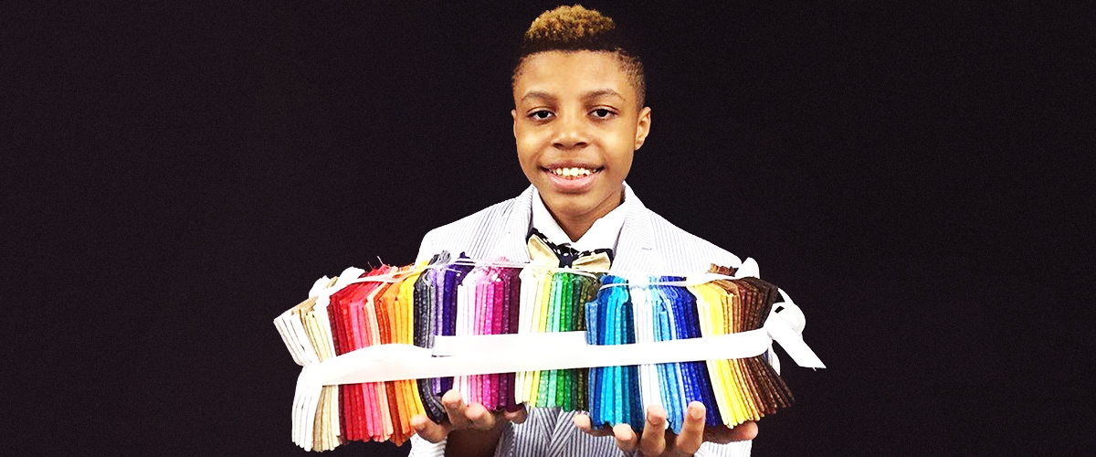 Darius Brown, 12, Makes Bow Ties for Shelter Pets to Help Them Get Adopted
