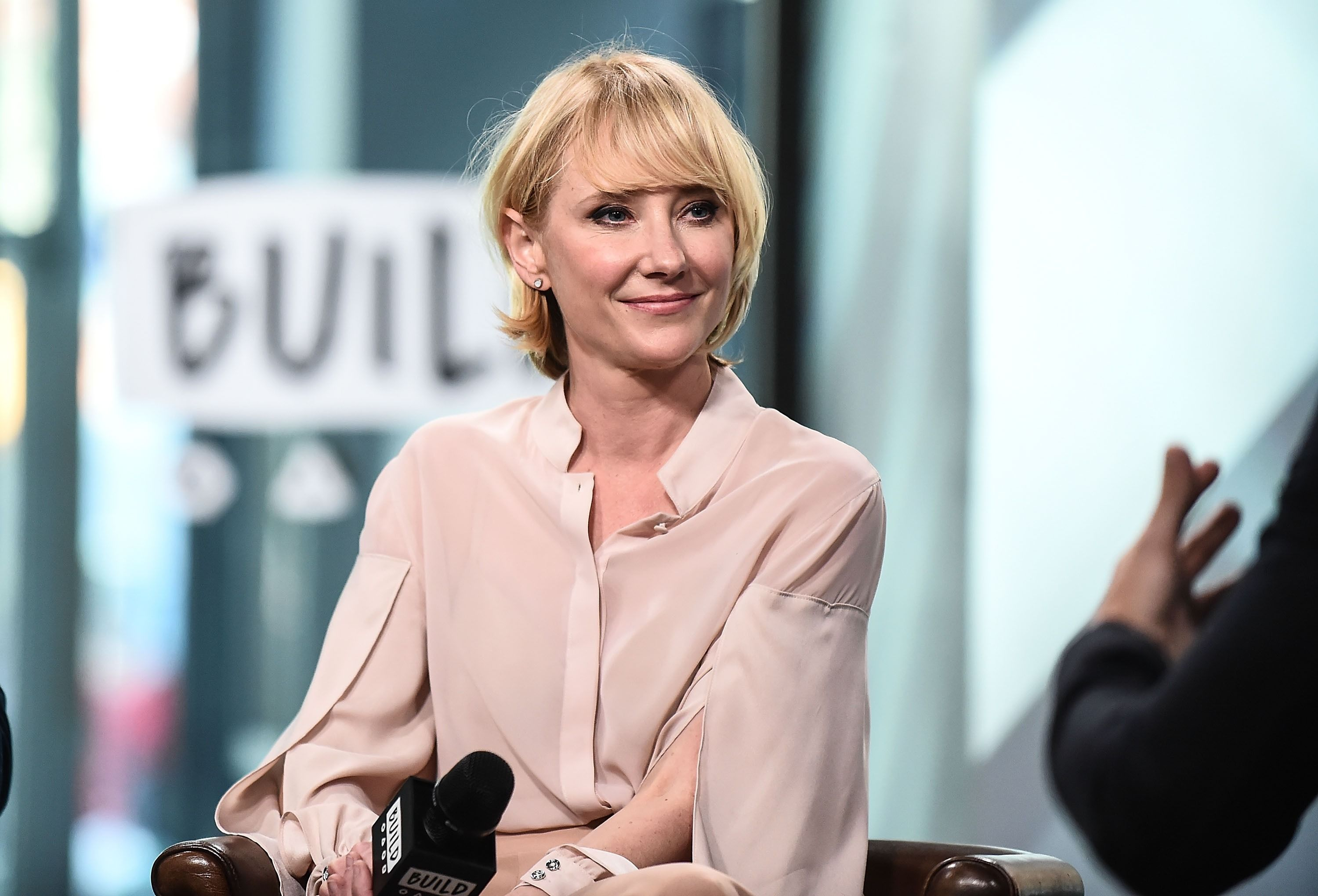 Anne Heche at the Build Series to discuss the new show 'The Brave' at Build Studio on September 25, 2017 | Photo: Images
