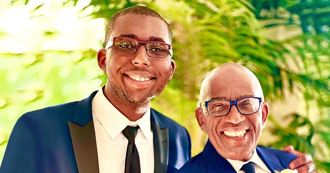Al Roker Is Awed by How Grown His Son Is as They Pose in Matching Blue Suits