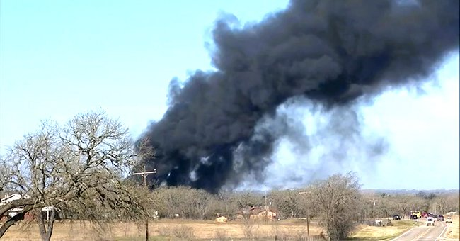 Train Hits 18-Wheeler in Texas & Triggers Destructive Fire — Details Revealed
