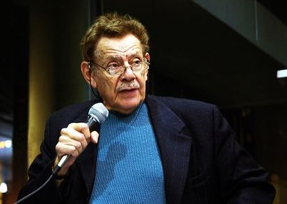 "Jerry Stiller in New York City for a book reading for ""Festivus."" 