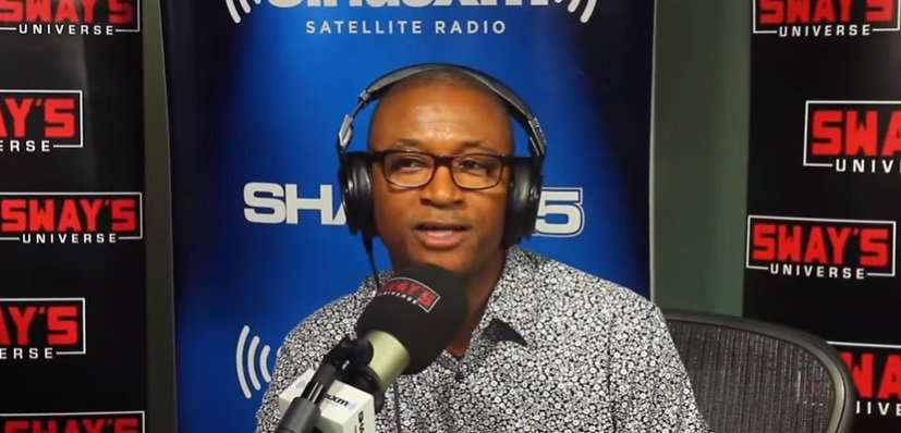 "Tommy Davidson in an interview with ""Sway."" 