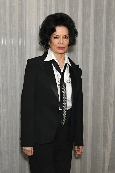 Bianca Jagger at White City House on February 6, 2020 Studios in London, England. | Photo: Getty Images