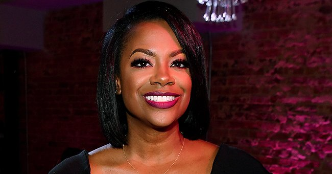 Kandi Burruss Steals Hearts with Cute Photoshoot for Baby Blaze on Her 7th Month Birthday