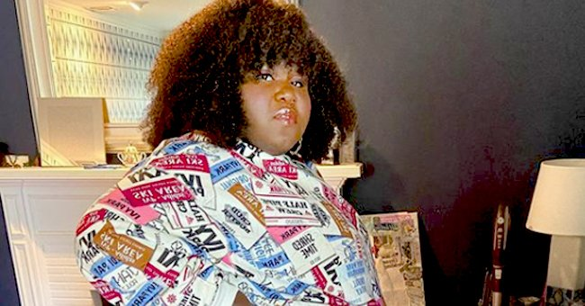 Gabby Sidibe Flaunts Slimmer Figure in a Green Dress & Sunglasses during a Date with Her Fiancé
