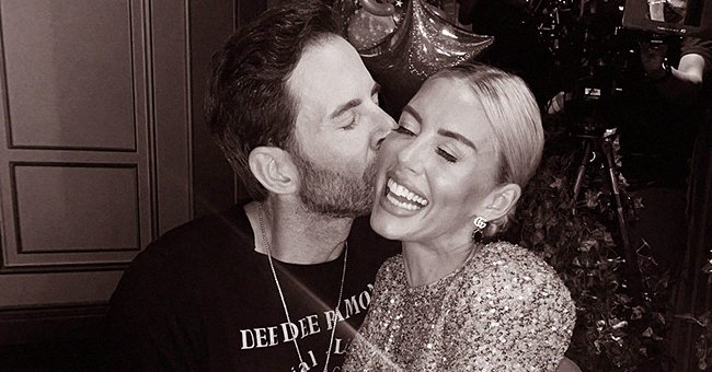 Heather Rae Young and Tarek El Moussa pose together on Young's 34th birthday, 2021 | Photo: Instagram @heatherraeyoung