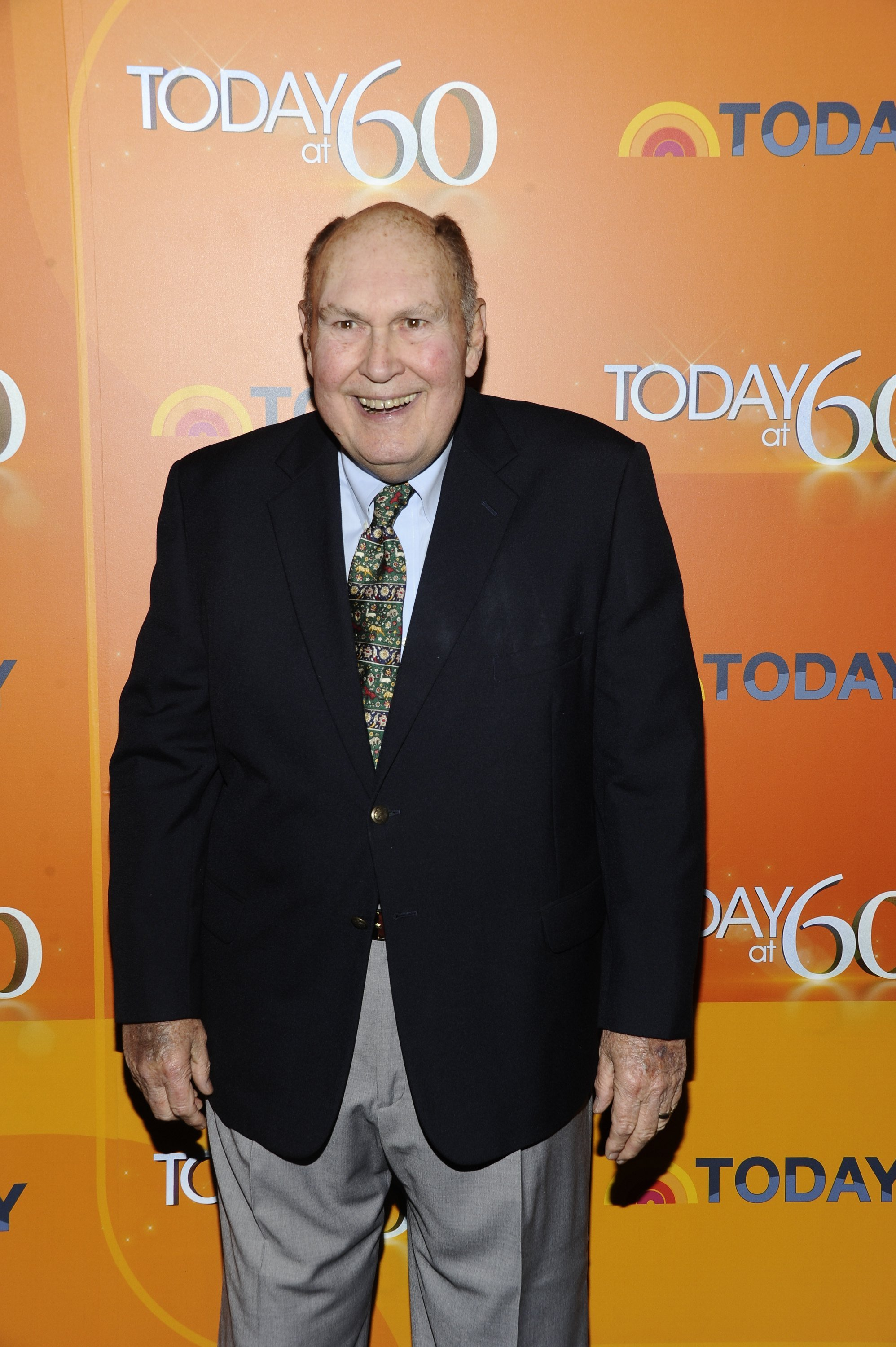 Willard Scott at the Edison Ballroom in New York to celebrate the 60th anniversary of the TODAY show on January 12, 2012 | Photo: GettyImages
