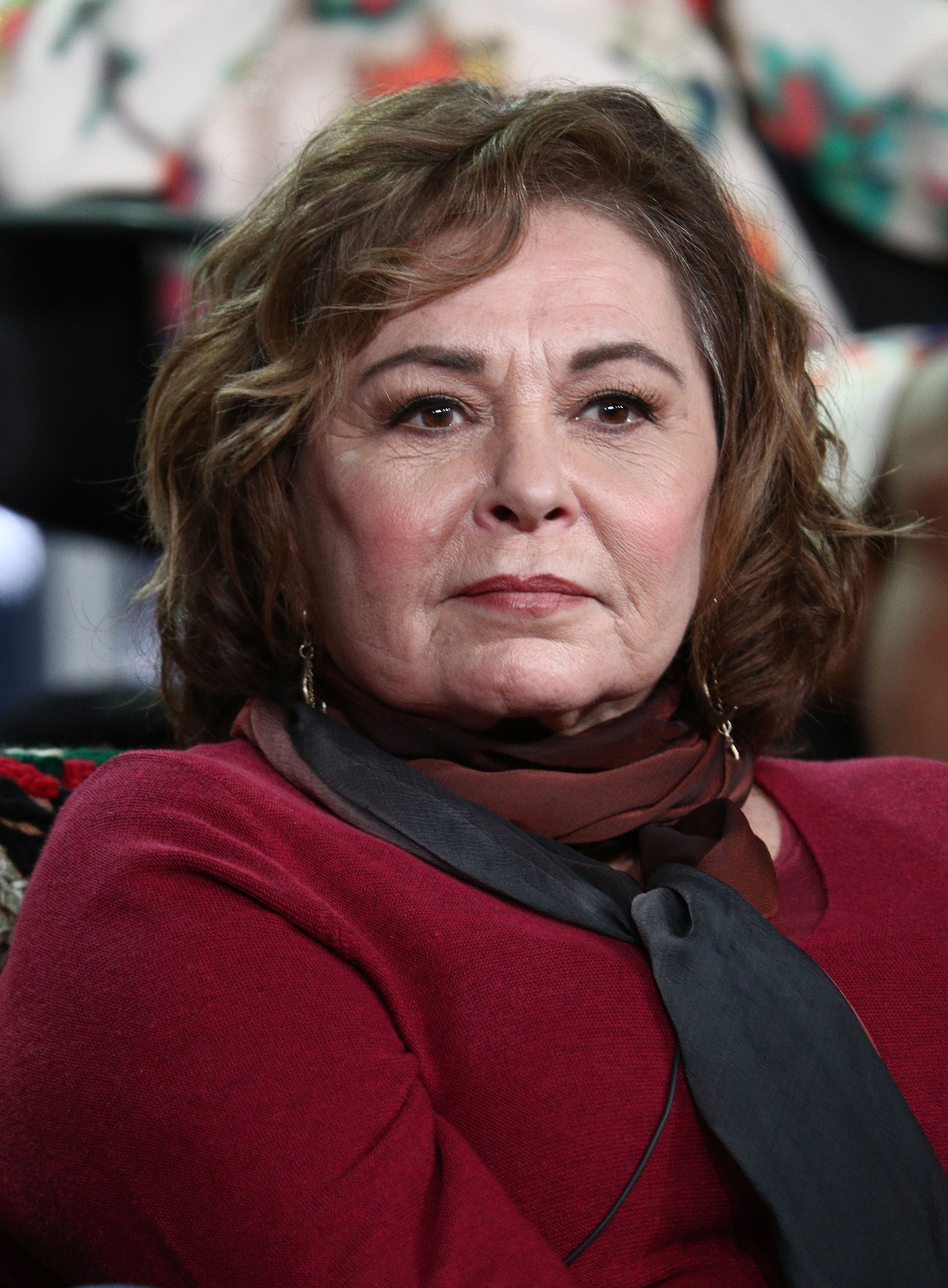 Roseanne Barr at the 2018 Winter Television Critics Association Press Tour in Pasadena, California | Photo: Getty Images