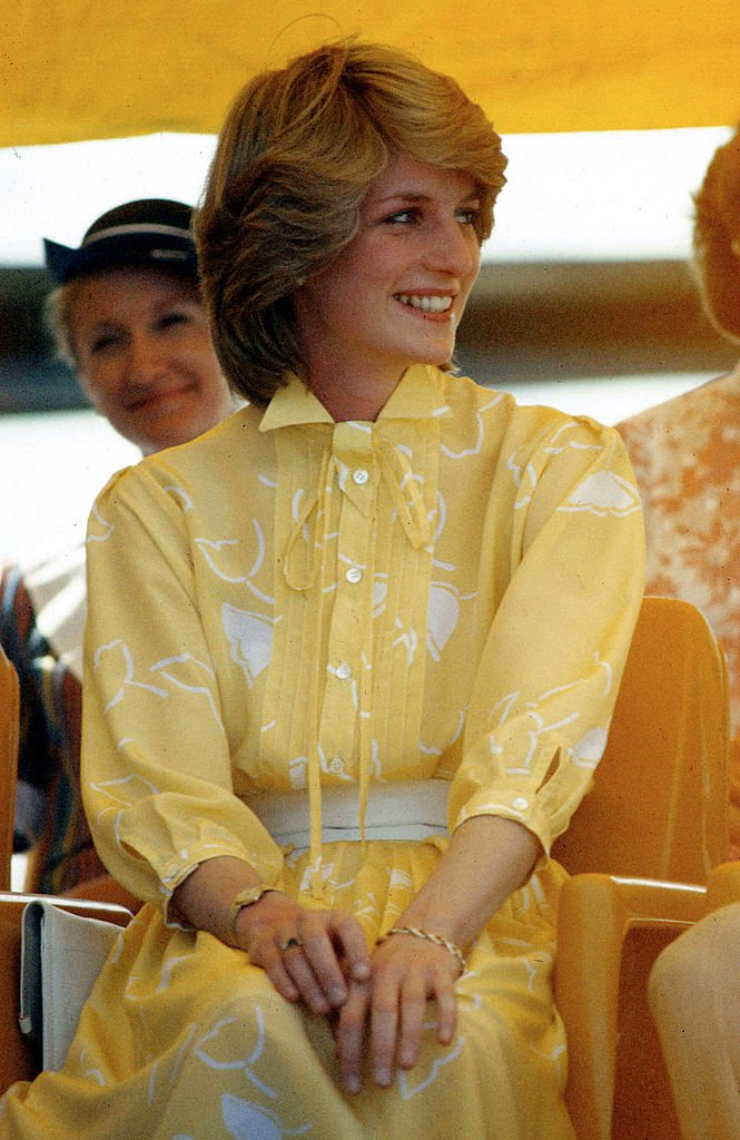 Princess Diana on her visit to Alice Springs with Prince Charles, Northern Territory on March 21, 1983   Photo: Getty Images