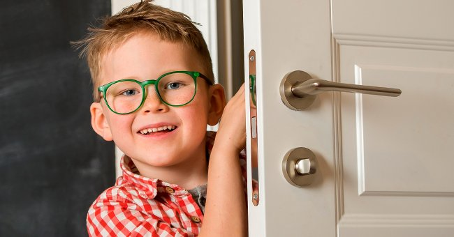 As soon as they got home, Tommy ran to the kitchen. And. | Photo: Shutterstock
