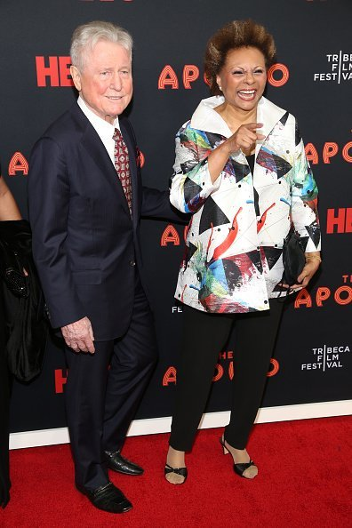 "Grahame Pratt and Leslie Uggams at the 18th Annual Tribeca Film Festival 2019 Opening Night Screening Of ""The Apollo"" 