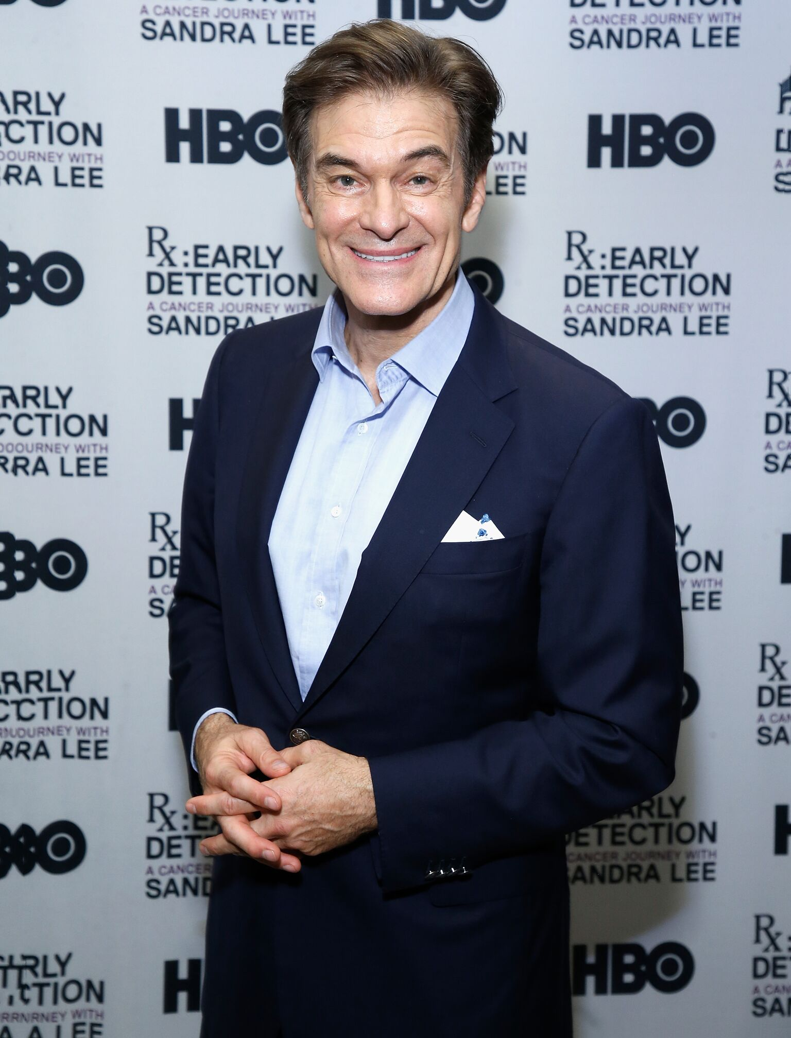 "Dr. Mehmet Oz attends ""RX: Early Detection A Cancer Journey With Sandra Lee"" New York screening at HBO Theater 