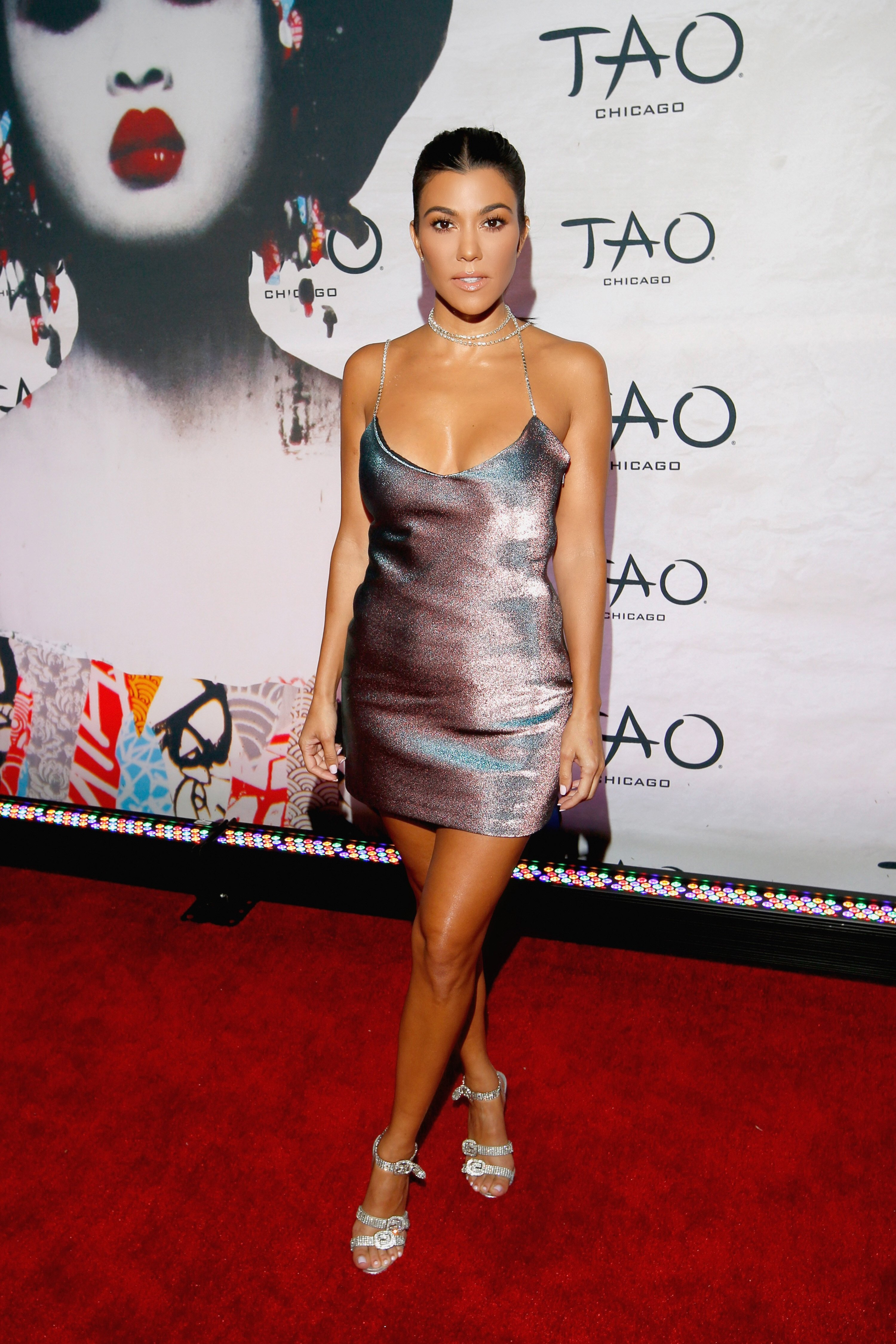 Kourtney Kardashian attends the TAO Chicago Grand Opening Celebration at TAO Chicago on September 15, 2018, in Chicago, Illinois. | Source: Getty Images.