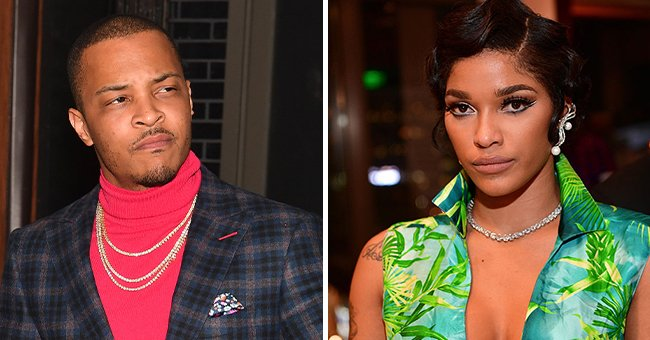 A collage picture of Joseline Hernandez and rapper, T.I. | Photo: Getty Images
